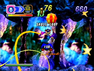 Another NiGHTS into Dreams screenshot