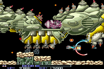 Another R-Type screenshot