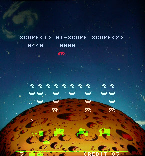 Another Space Invaders screenshot